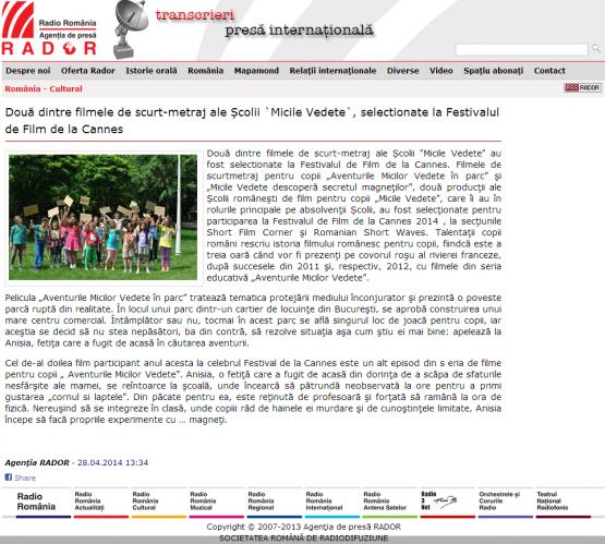 Articol Radio Romania
