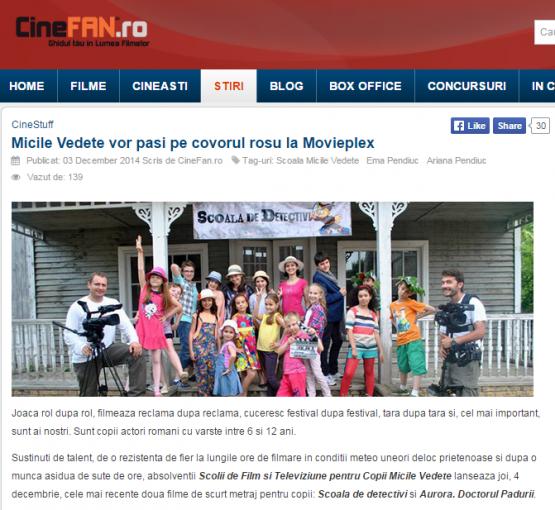 Articol CineFan.ro