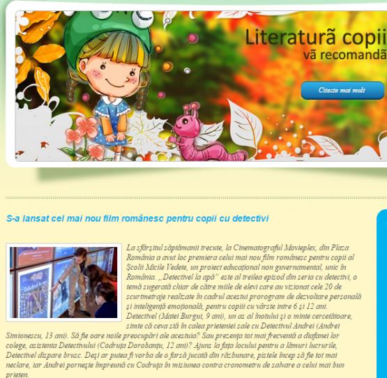 Literaturacopii.ro