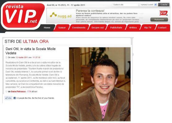 Articol VIP