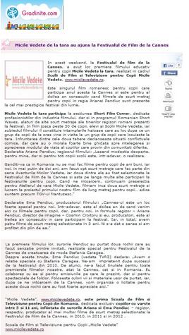 Articol Gradinite.com