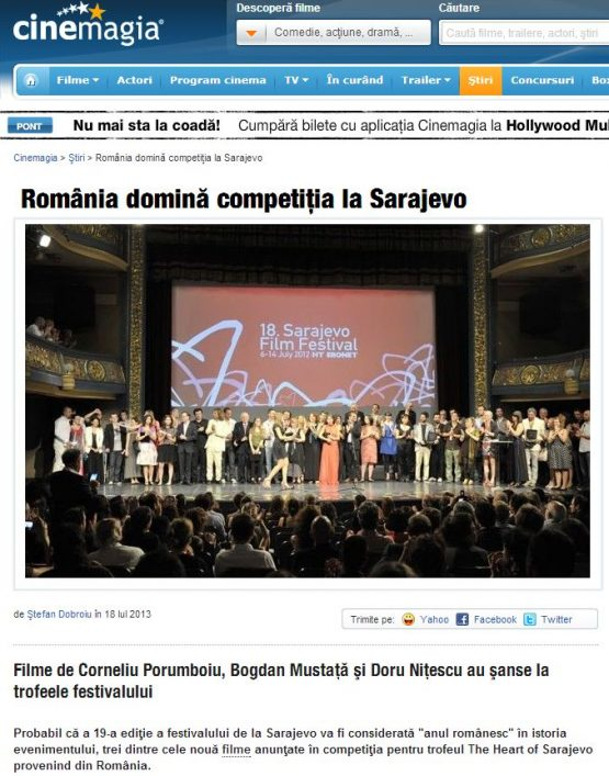 Articol Cinemagia.ro