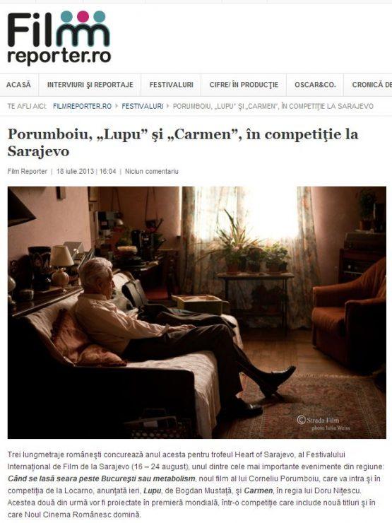 Articol Film-reporter.ro