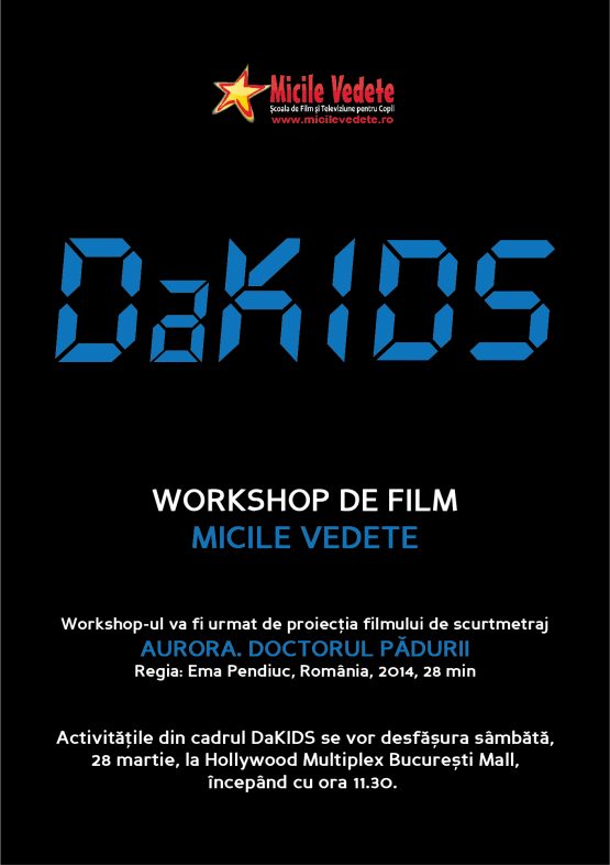 Workshop De Film Micile Vedete La DaKINO 24