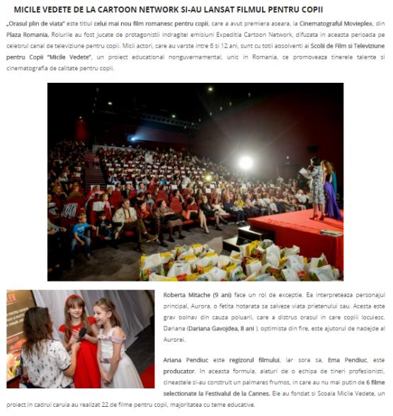 Articol Kidspots.ro