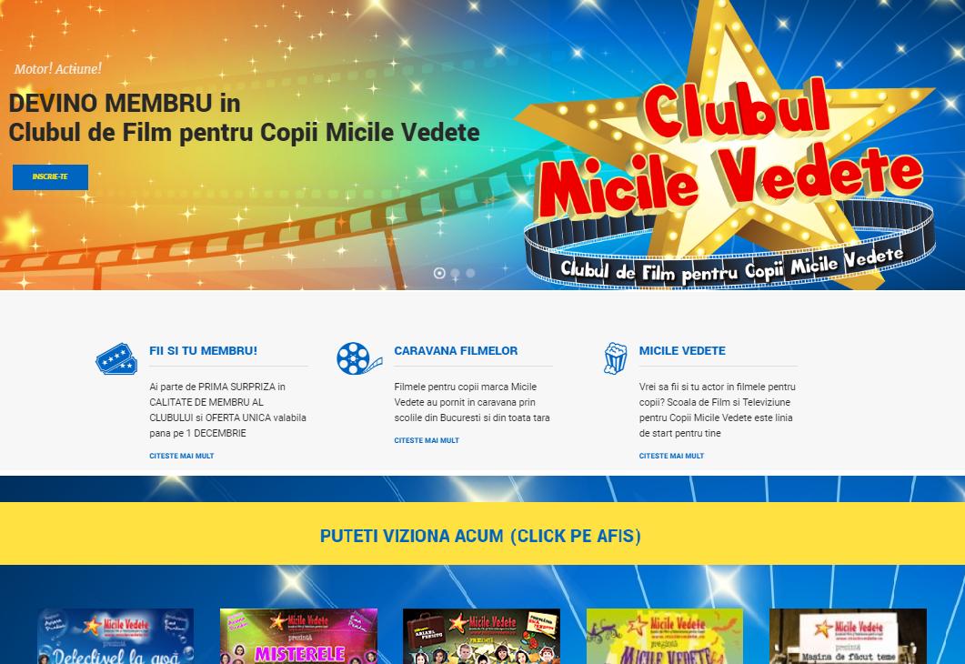 Prima platforma dubla online pentru copii si parinti din Romania