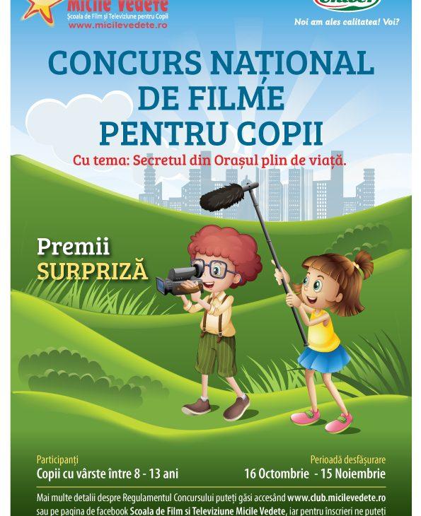 Concursul National de Filme pentru Copii Micile Vedete – Editia 2017
