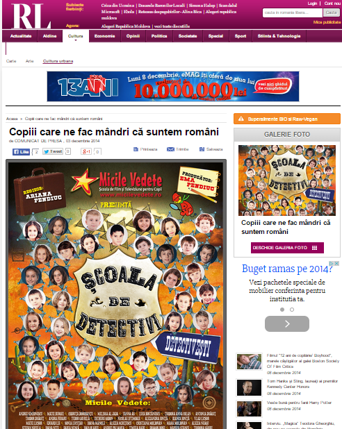 Articol Romania Libera