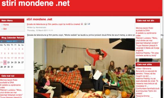 Articol Stirimondene.net