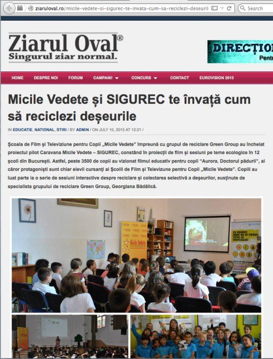 Ziarul Oval
