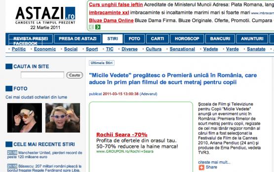 Articol Astazi.ro