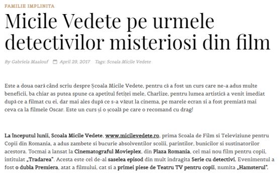 Articol Blog Gabriela Maalouf