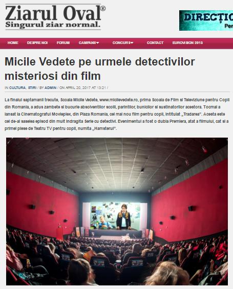Articol www.ziaruloval.ro