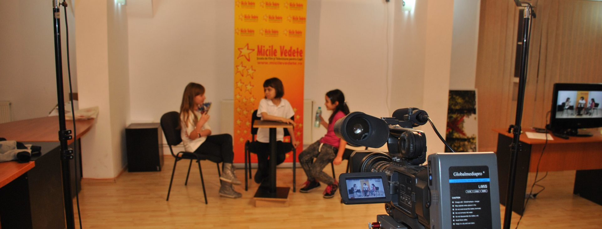 Film and Television Workshop for Children – Ramnicu Valcea