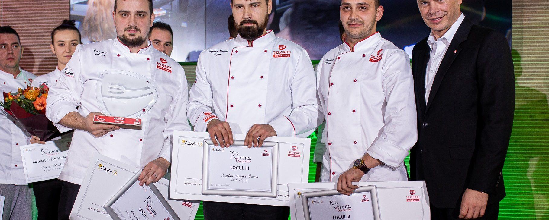 """Concursul """"Arena Bucătarilor"""" ediția 2019 și-a desemnat câștigătorii"""